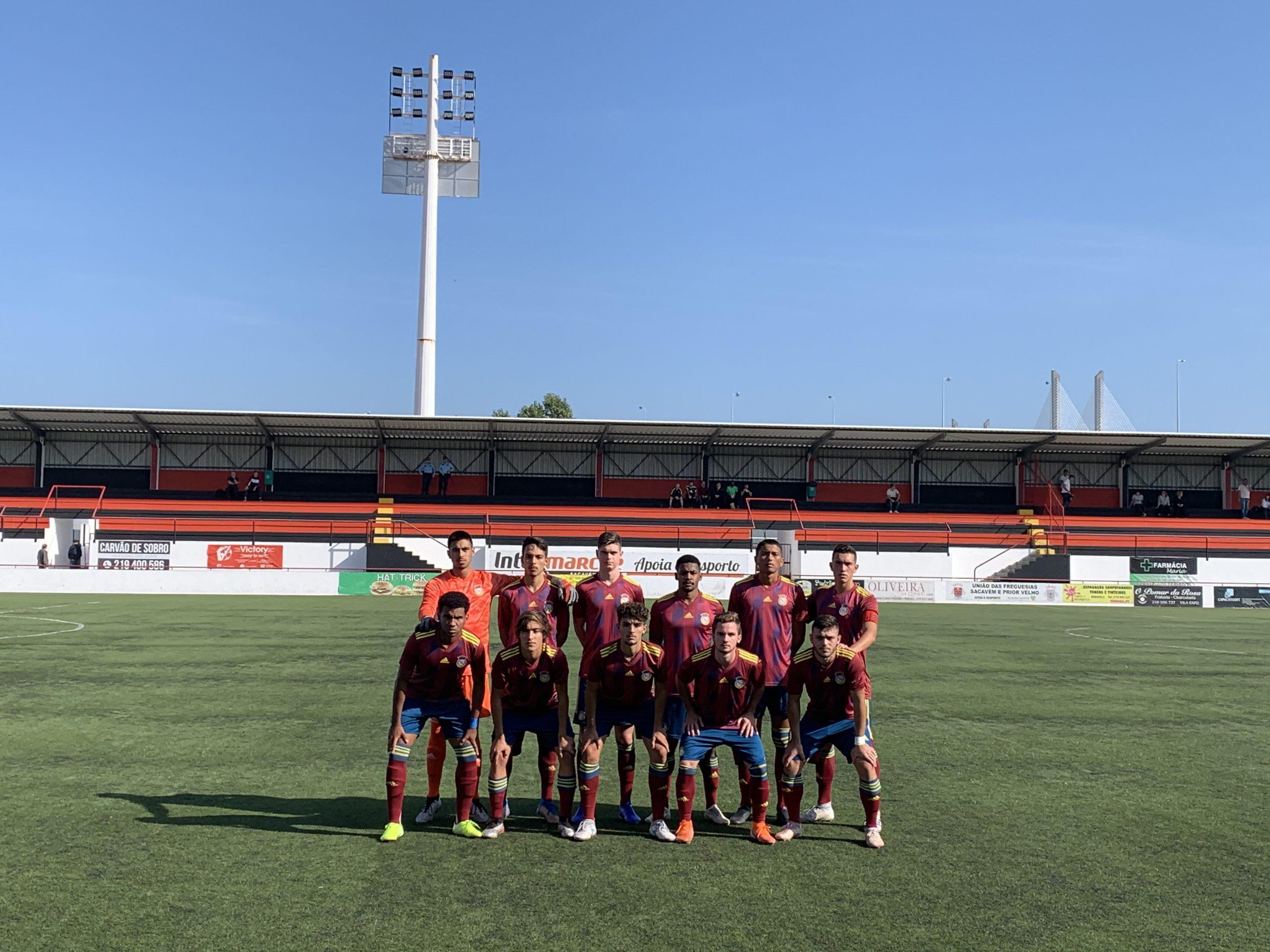 Juniores: Sacavenense 0-1 FC Alverca