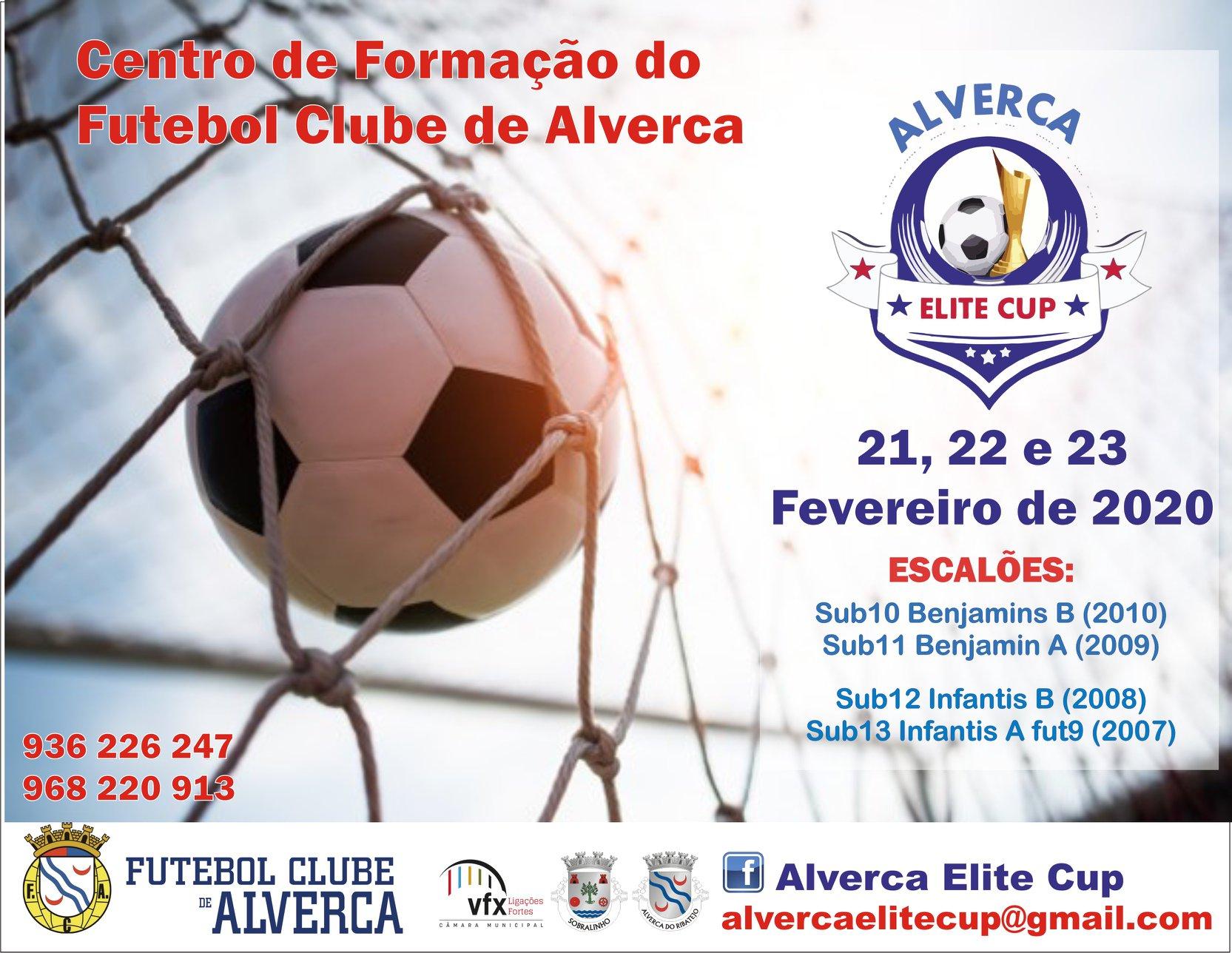 """Torneio de Carnaval do Futebol Clube de Alverca """"Elite Cup"""""""