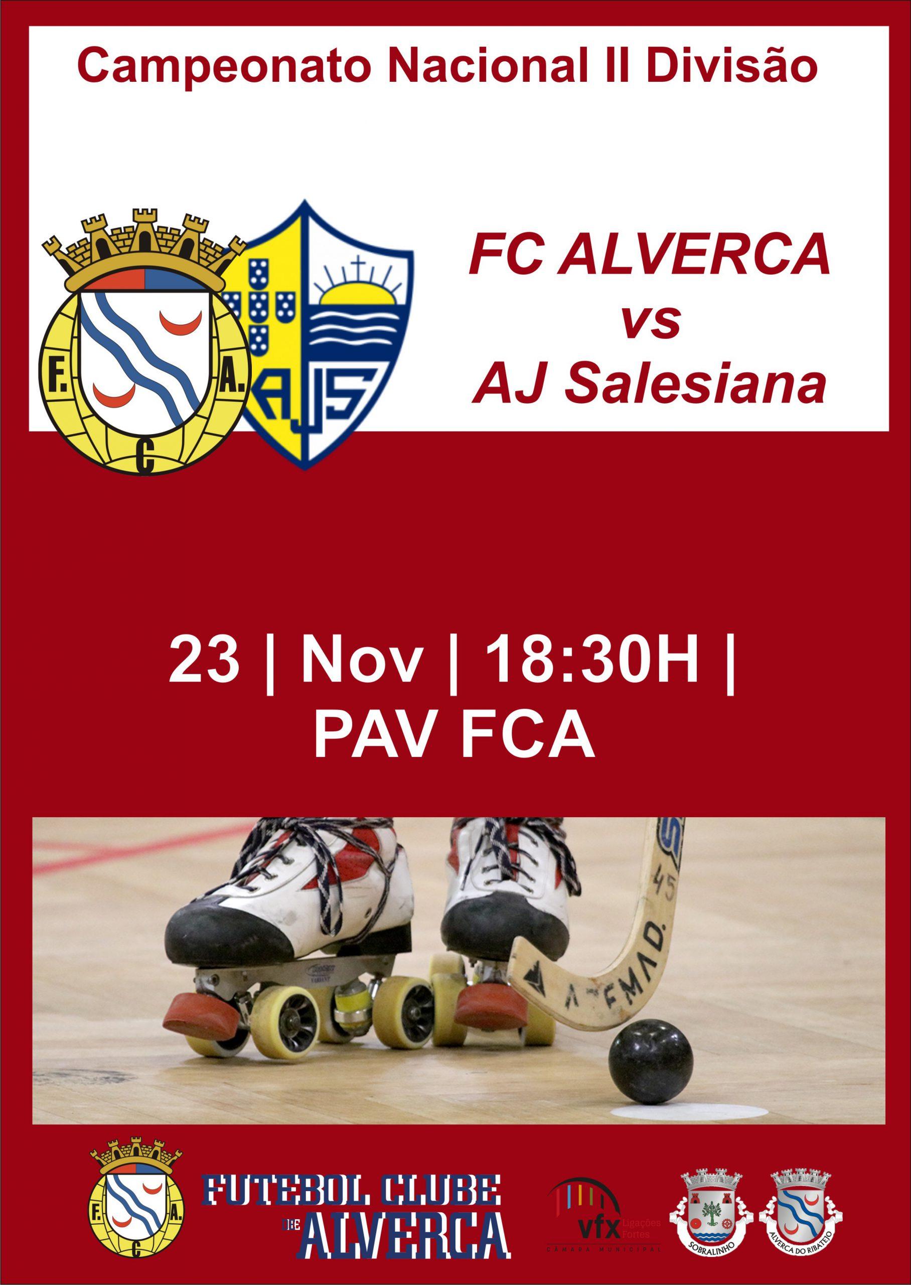 Hóquei FCA vs Salesiana