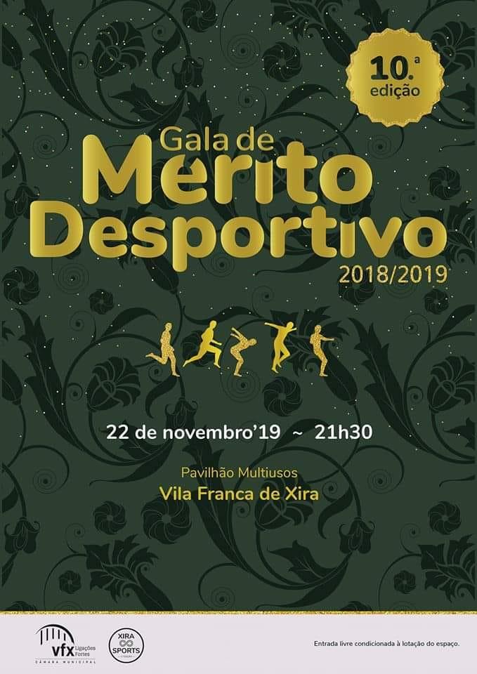 Gala Mérito Desportivo da Câmara Municipal de Vila Franca de Xira 22/11/2019