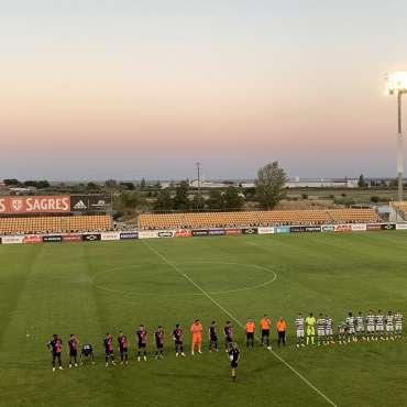 Estádio do Alverca recebeu jogo amigável